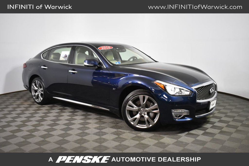 Certified Pre-Owned 2016 INFINITI Q70L 4dr Sedan V6 AWD