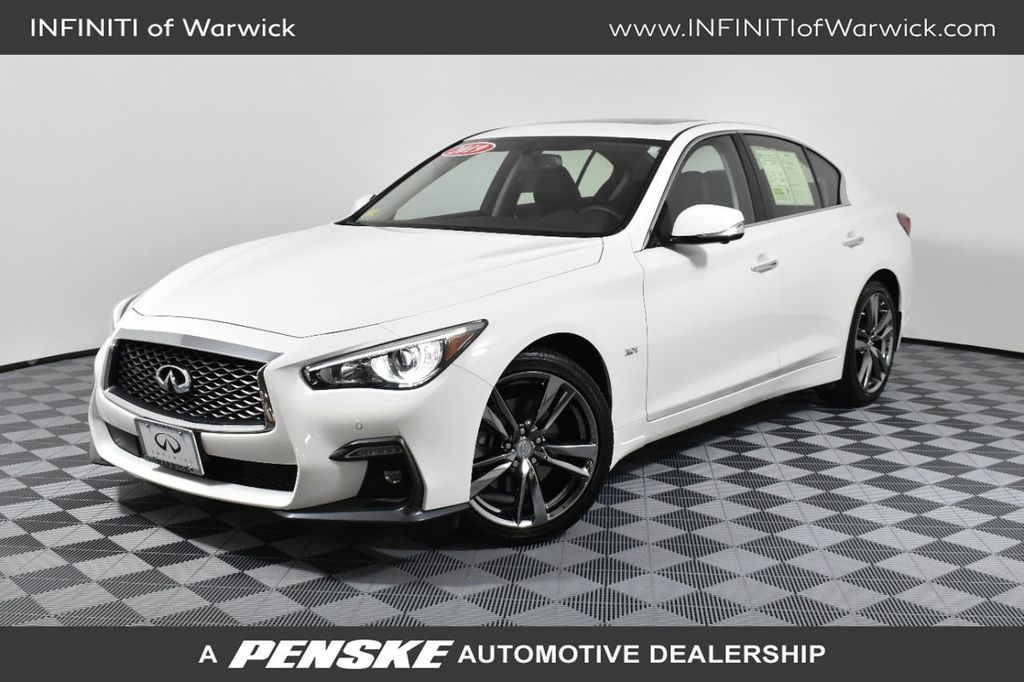 Certified Pre-Owned 2019 INFINITI Q50 3.0t Signature Edition AWD