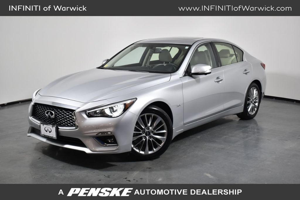 Certified Pre-Owned 2020 INFINITI Q50 3.0t LUXE AWD