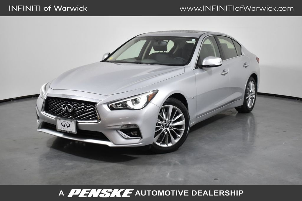 Certified Pre-Owned 2018 INFINITI Q50 3.0t LUXE AWD