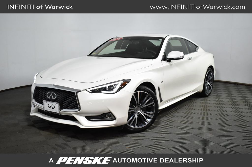 Certified Pre-Owned 2019 INFINITI Q60 3.0t LUXE AWD