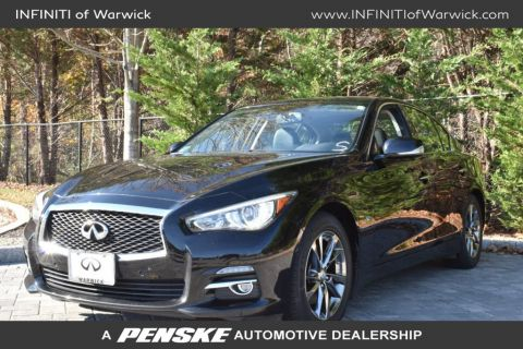 Pre-Owned 2015 INFINITI Q50 4dr Sedan Premium AWD