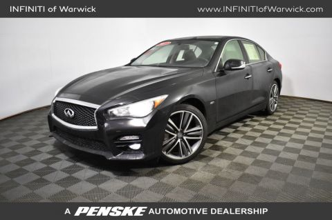 Certified Pre-Owned 2017 INFINITI Q50 2.0t Sport AWD
