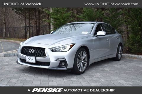 Certified Pre-Owned 2018 INFINITI Q50 3.0t SPORT AWD