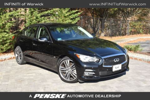 Certified Pre-Owned 2016 INFINITI Q50 4dr Sedan 3.0t Sport AWD