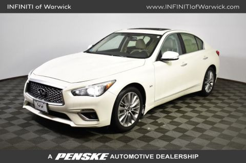 Certified Pre-Owned 2019 INFINITI Q50 3.0t LUXE AWD